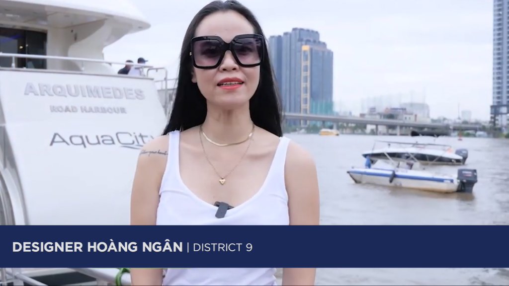 """RESIDENTS IN THE EAST OF HCMC SHARED: """"THE LIVING SPACE OF AQUA CITY MADE A STRONG IMPRESSION ON ME"""""""