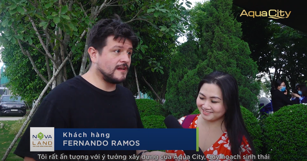 FERNANDO RAMOS AND NGUYEN PHAM ĐOAN KHANH: I JUST WANT TO LIVE IN AQUA CITY IN THE FUTURE