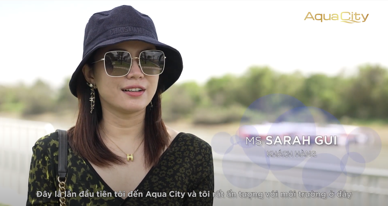 SARAH GUI - What impressed foreign investors when they come to Aqua City?